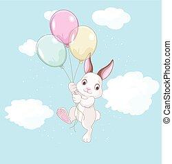 aniversário, coelhinho