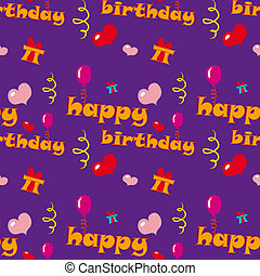 aniversário, textura, feliz