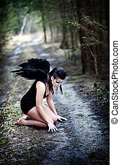 anjo caído
