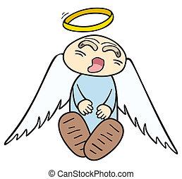 anjo, dormir