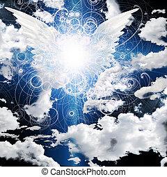 anjo, winged