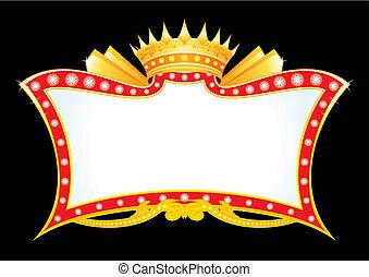 ankündigung, königlich