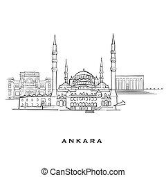 Ankara Turkey famous architecture