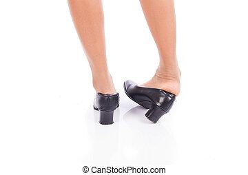 Ankle sprain while walking