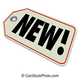 ankunft, produkt, newest, karten geben, preisetikett, waren...