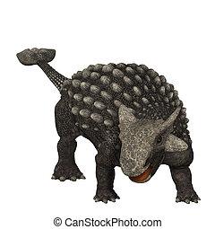 Ankylosaurus was an armored dinosaur from the Creataceous...