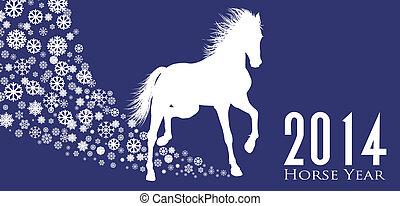 année, cheval