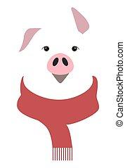 année, cochon