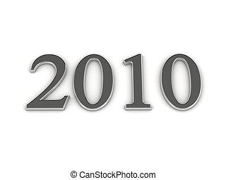 année, lettres, 2010, argent