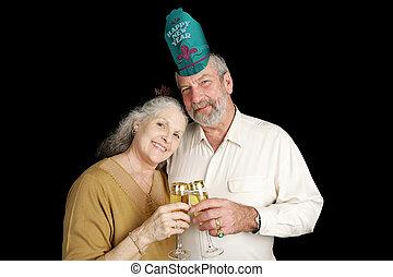 années, couple, nouveau, mûrir
