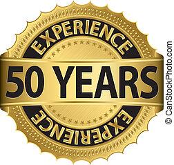 années, expérience, 50