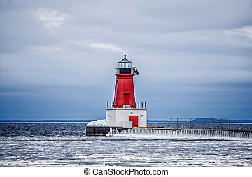 ann arbor lighthouse in michigan