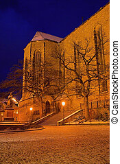 Annaberg-Buchholz church night 02