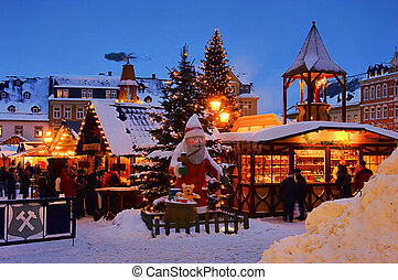annaberg-buchholz, navidad, mercado, 14