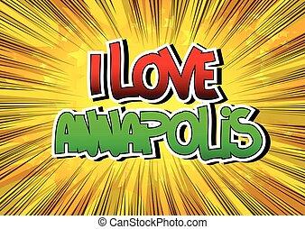 annapolis, amore
