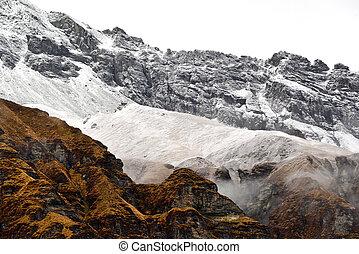 Annapurna Base Camp, Himalaya mountains, Nepal