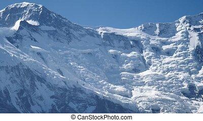 Annapurna Peak in the Himalaya range, Annapurna region, Nepal