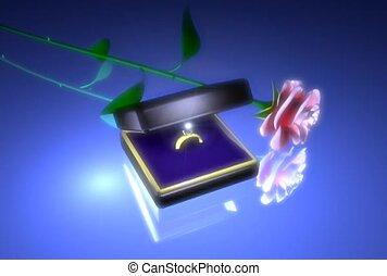 anneau, engagement