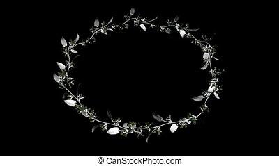 anneau, fleurs