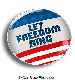 anneau, laisser, liberté
