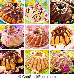 anneau, Paques, gâteaux,  collection