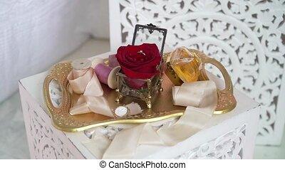 anneau, plateau, bijouterie