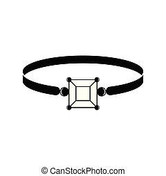 anneau, silhouette