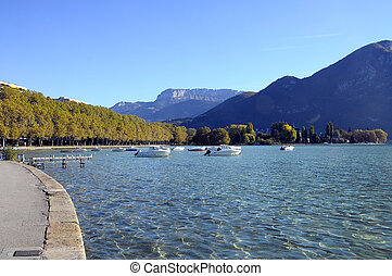 annecy 湖, フランス