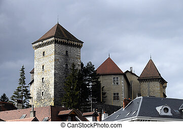 Annecy castle, Savoy, France