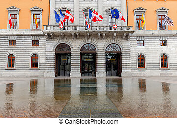 Annecy. City Hall.