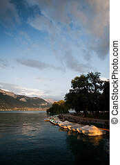 Annecy Lake Evening
