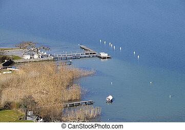 Annecy lake, Savoy, France