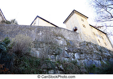 Annecy medieval castle, savoy, france