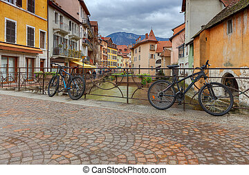 Annecy. Old city.