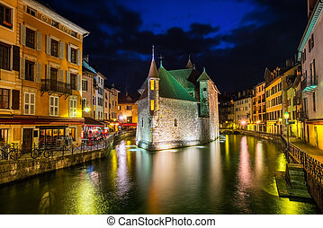 Annecy Old Town, Savoy, France