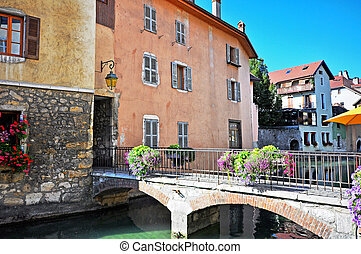 Annecy old town, France