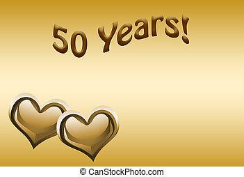 anniversaire, 50th