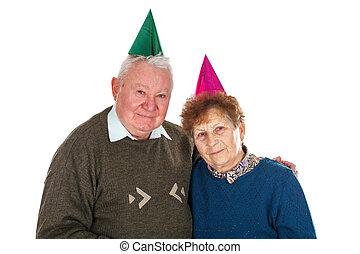 anniversaire, ensemble, 50th