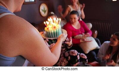 anniversaire, heureux, you!