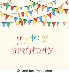 anniversaire, message, heureux