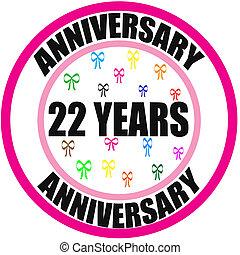 anniversario, 22
