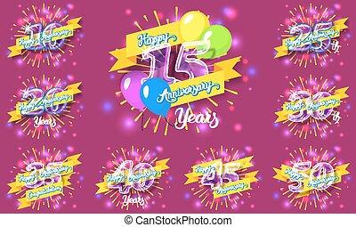 anniversario felice