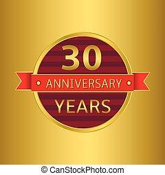 Anniversary 30 years