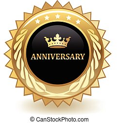 Anniversary Badge