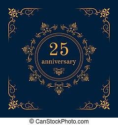 Anniversary celebration card