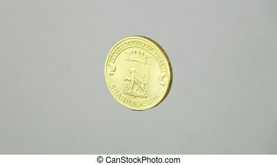 Anniversary Russian coin. 10 rubles.