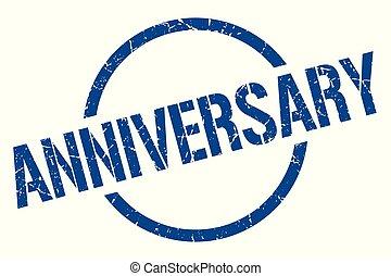 anniversary stamp