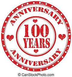 Anniversary-stamp