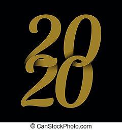 Sfondo nuovo anno - 2020