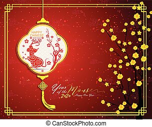 anno nuovo, cinese, 2020, ratto
